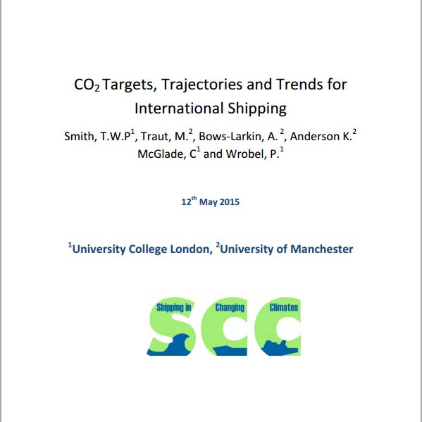 The front cover of an academic paper on CO2 emissions